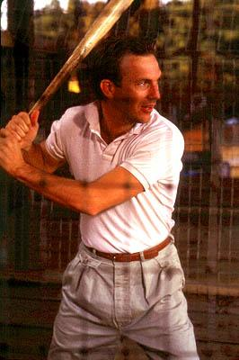 Kevin Costner as Crash Davis in MGM's Bull Durham