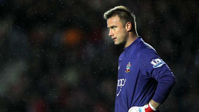 Artur Boruc was making his home debut for Southampton against Tottenham
