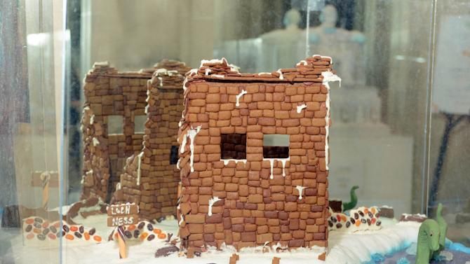 Gingerbread 'Landmarks Around the World'