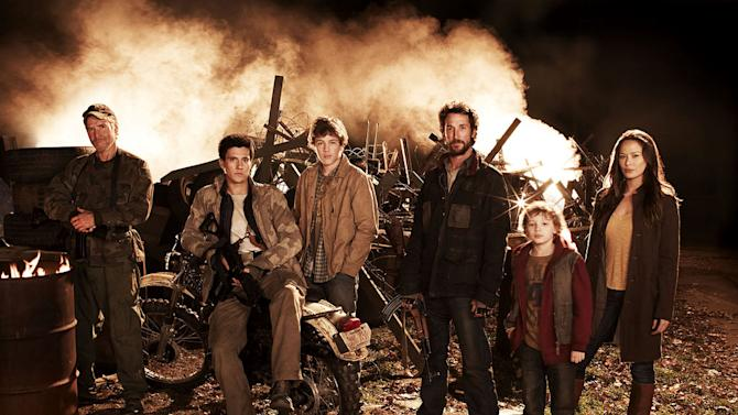 """The cast of """"The Falling Skies."""""""