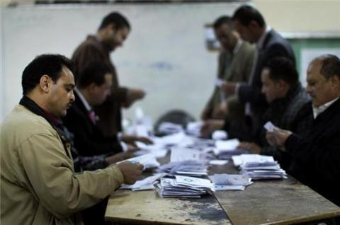 Egypt awaits official referendum results