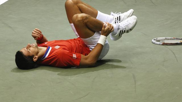 Tennis - Djokovic delays Monte Carlo decision after ankle scan
