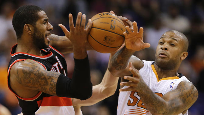 Dragic, Suns end Blazers' 11-game streak, 120-106