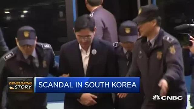South Korea's corruption scandal