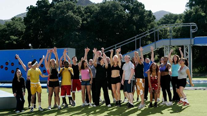 """The contestants of """"Wipeout"""""""
