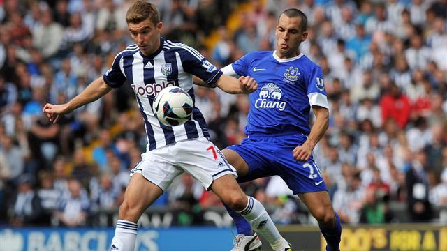 Baggies continue flying start with win over Everton