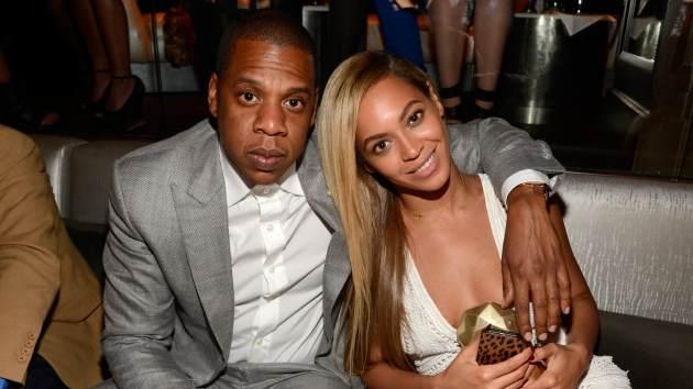 Jay-Z and Beyonce attend The 40/40 Club 10 Year Anniversary Party at 40 / 40 Club on June 17, 2013 in New York City -- Getty Images