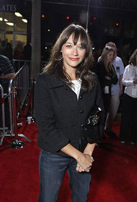 Rashida Jones at the Los Angeles premiere of DreamWorks Pictures' The Heartbreak Kid