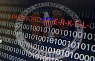 A computer with a series of numbers and the logo of the United States' National Security Agency (NSA) is seen in this multiple exposure picture illustration taken in Frankfurt October 28, 2013. REUTERS/Kai Pfaffenbach