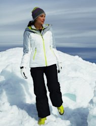 A slim Primaloft jacket does not weigh you down and keeps you warm.