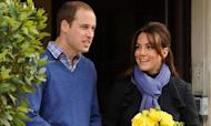 Pregnant Kate: Duchess Is Out Of Hospital