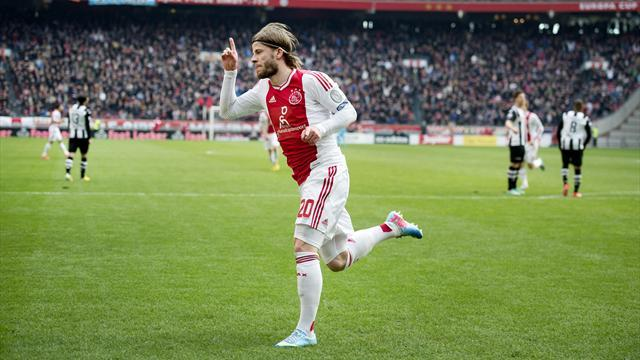 European Football - Ajax reach cup final and stay on course for double