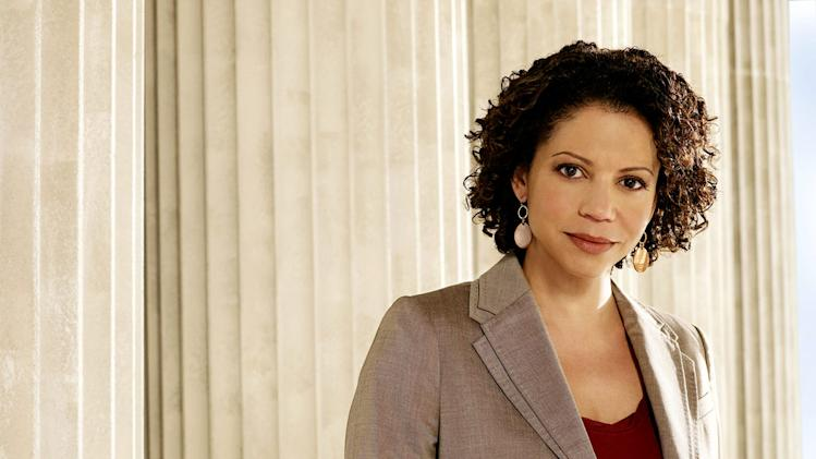 Gloria Reuben stars as Rosalind Hernandez in Raising the Bar.