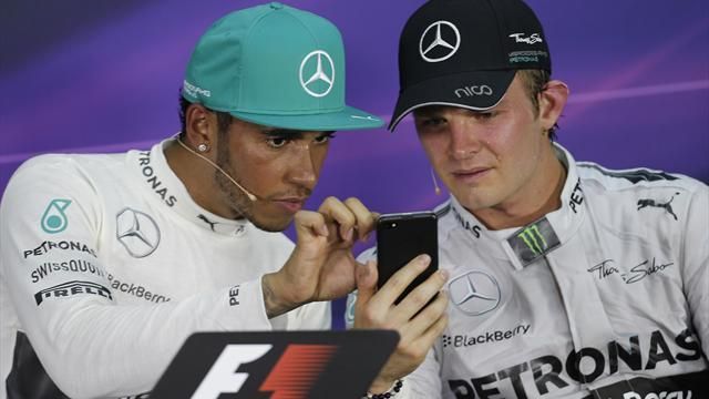 Formula 1 - Rosberg seeks to 'clear the air' with Hamilton