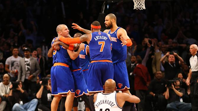 New York Knicks v Brooklyn Nets