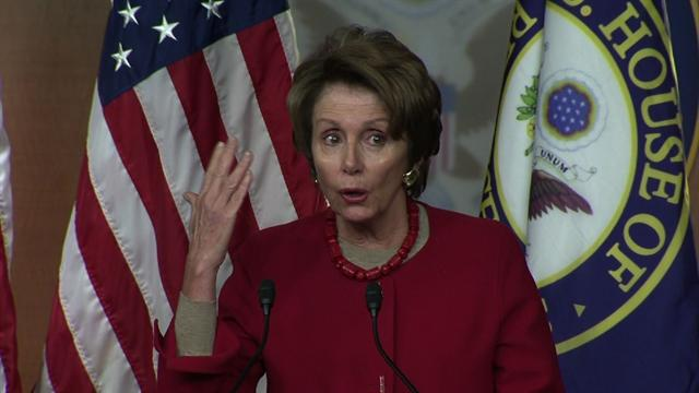 """Pelosi: Replace """"mindless"""" sequester cuts before recess"""