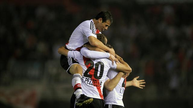 World Football - River Plate beat Boca in superclasico 'friendly'