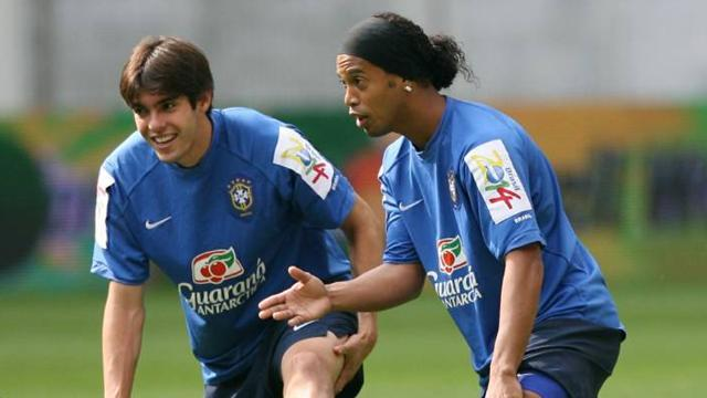 World Cup - Ronaldinho dropped by Brazil, Kaka recalled
