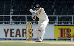 The Indian batsmen left the ball outside the off stump brilliantly