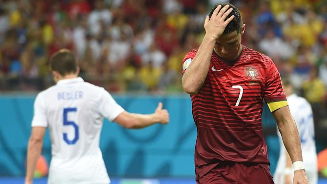 World Cup - Ronaldo: Portugal can't win World Cup