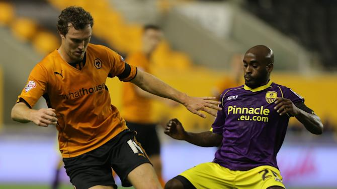 Soccer - Johnstone's Paint Trophy - Southern Area - Second Round - Wolverhampton Wanderers v Notts County - Molineux