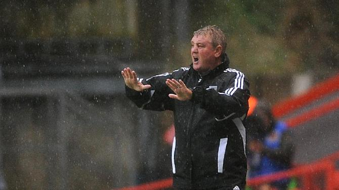 Hull City manager Steve Bruce was delighted with the way his side played at Leeds
