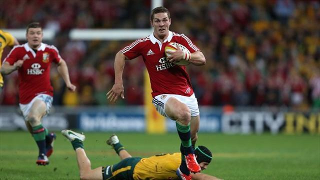 Lions Tour - Lions star North sheepish over celebration