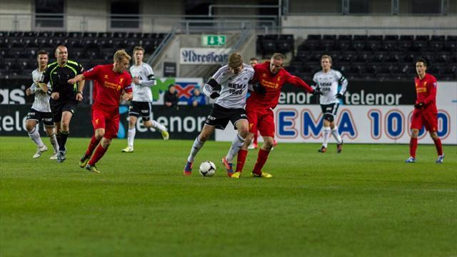 Premier League - Liverpool ease past Rosenborg in NextGen Series