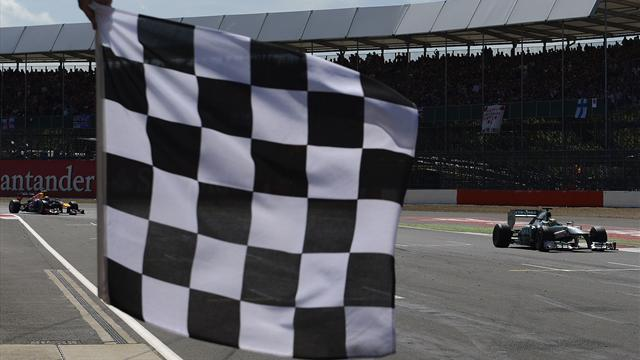 Chinese Grand Prix - Result changed after chequered flag blunder
