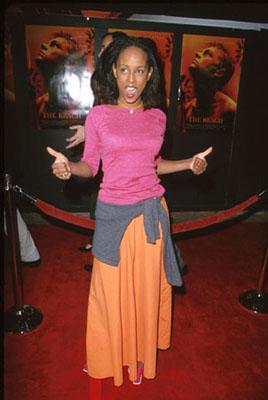 "Trina McGee-Davis of ""Boy Meets World"" at the premiere of 20th Century Fox's The Beach"