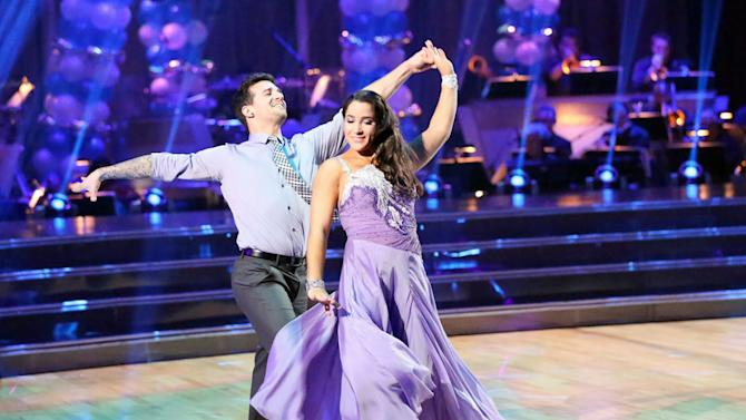 Mark Ballas  and Alexandra Raisman (4/1/13)