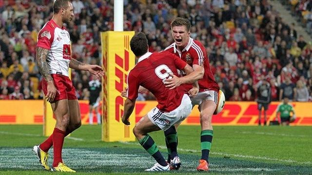 Lions Tour - Lions 'spoilt' with choice of scrum-halves, says Genia