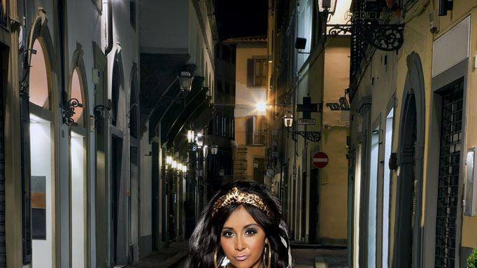 "Nicole 'Snooki"" Polizzi in Italy for Season 4 of ""Jersey Shore."""