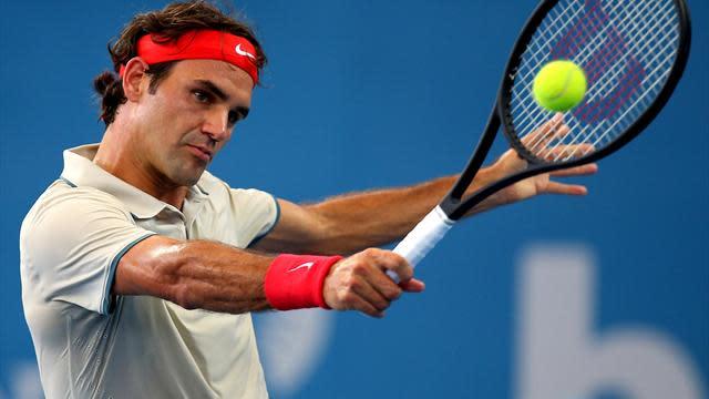 Australian Open men - Federer v Duckworth: LIVE