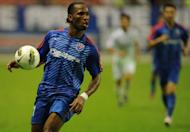 Real Madrid boss Jose Mourinho believes that his former club Chelsea could struggle this season without striker Didier Drogba, seen here in August 2012