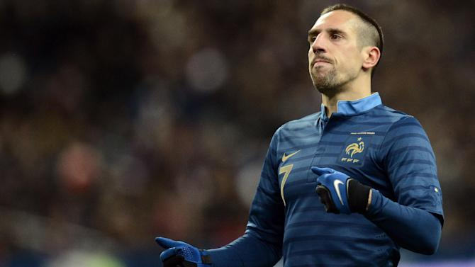 World Cup - Confusion over Ribery's World Cup hopes after back pain