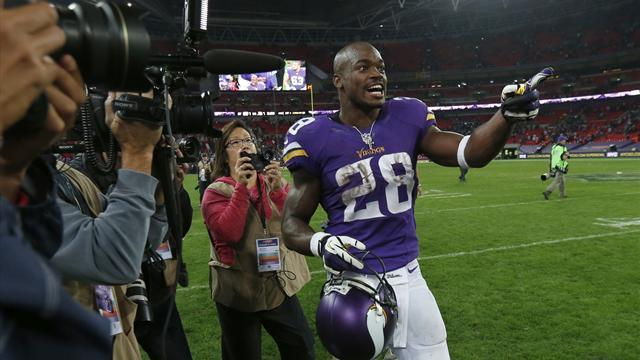 NFL - Vikings conquer Steelers at Wembley