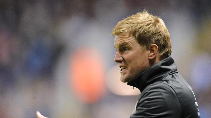Eddie Howe returned to Bournemouth last week from Burnley