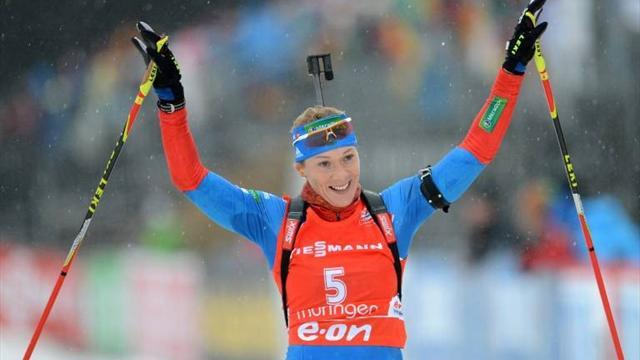 Biathlon - Zaitseva continues Russian dominance in Oberhof