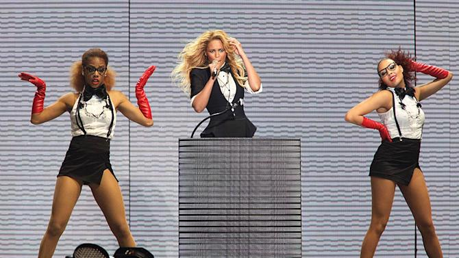 Beyonce Knowles Oprahs Farewell Show