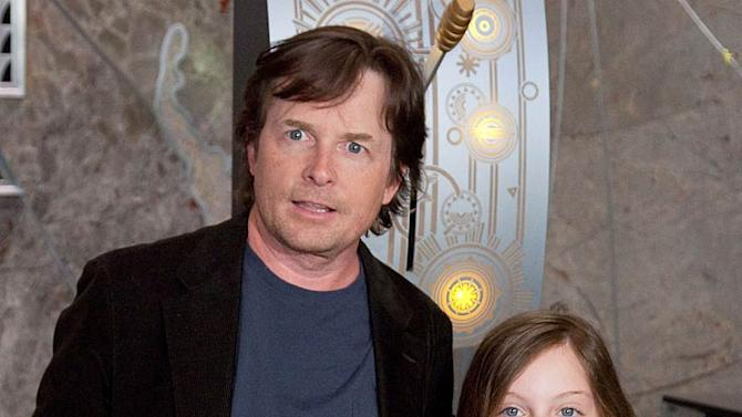 MichaelJ Fox Esme Empire State Bldng