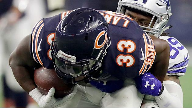 Bears' Jeremy Langford out at least a month with sprained ankle