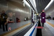 China shows off world's longest high-speed rail route