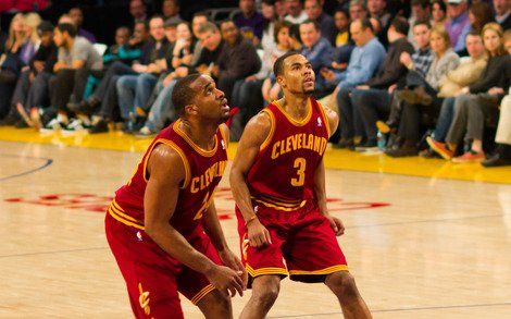 Ramon Sessions and Samardo Samuels By Bridget Samuels