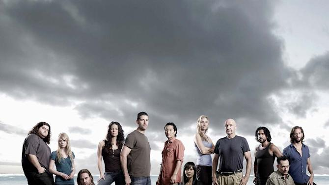 The cast of Lost.