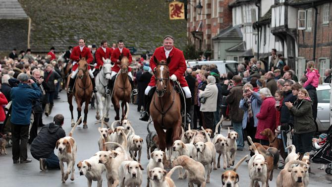Participants Prepare For The Traditional Boxing Day Hunt