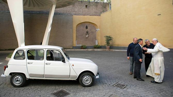 New Popemobile Is a 1984 Renault With 186,000 Miles on It