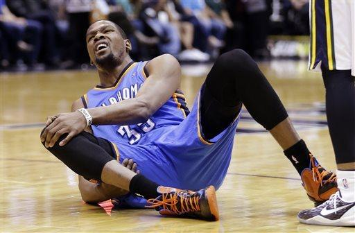 Westbrook, Durant lead Thunder over Jazz 90-80