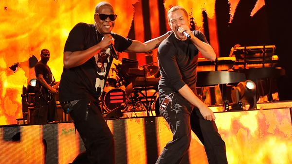 Coldplay, Jay-Z to Rock New Year's Eve in Brooklyn