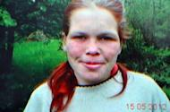 This reproduction of a photo taken on May 15 shows a German girl that was enslaved by a Bosnian couple. A German girl has been rescued by Bosnian police after allegedly being held captive by a couple for eight years during which she was forced to eat pig feed and pull a horse-cart